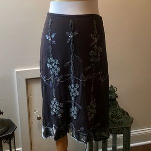 Anthropologie Lithe conservatory skirt NWT size 4